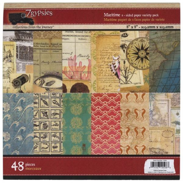 7 Gypsies Paper Pad