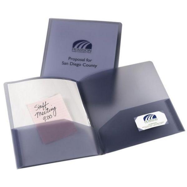 Avery Plastic Two Pocket Folders