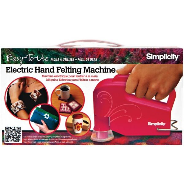 Simplicity Electric Handheld Felting Machine