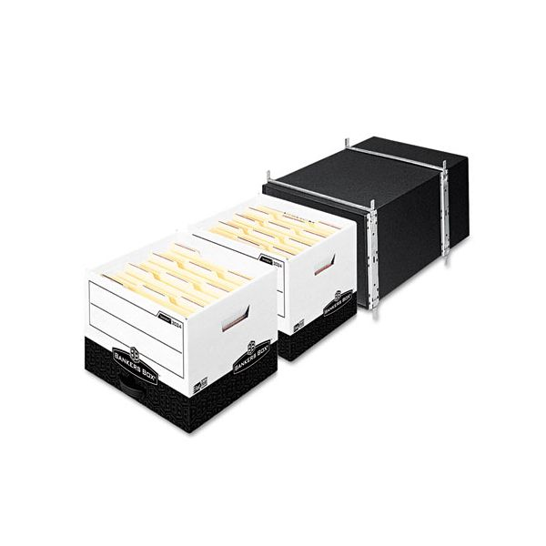 Fellowes Bankers Box Tandem Tray for Bankers Box Storage, White
