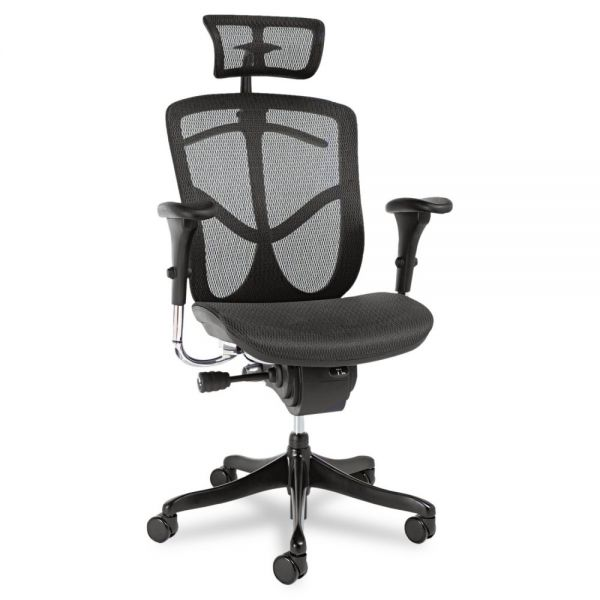 Alera EQ Series Ergonomic Multifunction High Back Mesh Chair