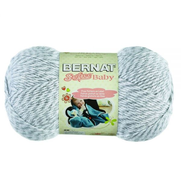 Bernat Softee Baby Yarn - Gray Marl