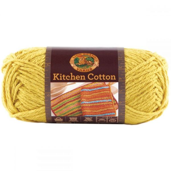 Lion Brand Kitchen Cotton Yarn - Citrus