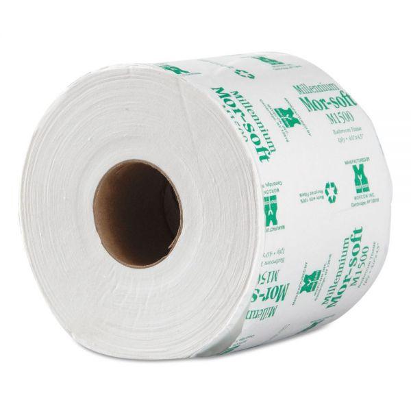 Morcon Paper Morsoft Millennium 1 Ply Toilet Paper