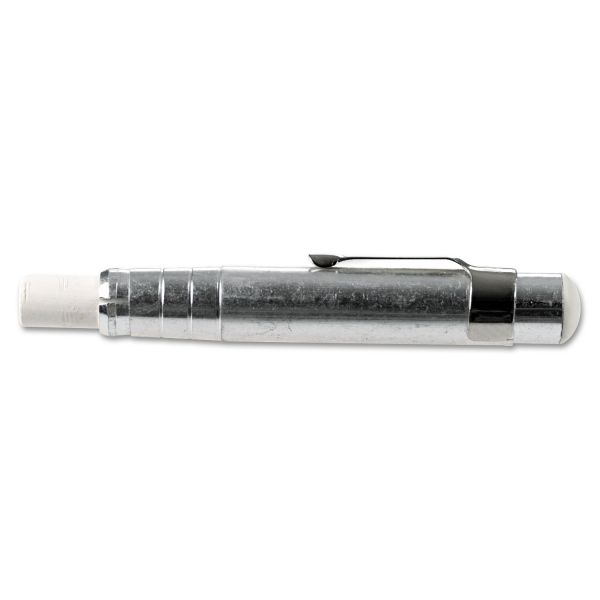 Charles Leonard Aluminum Chalk Holder, Silver