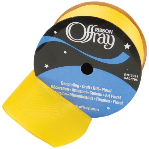 "Offray Wired 1 1/2"" Bistro Ribbon"