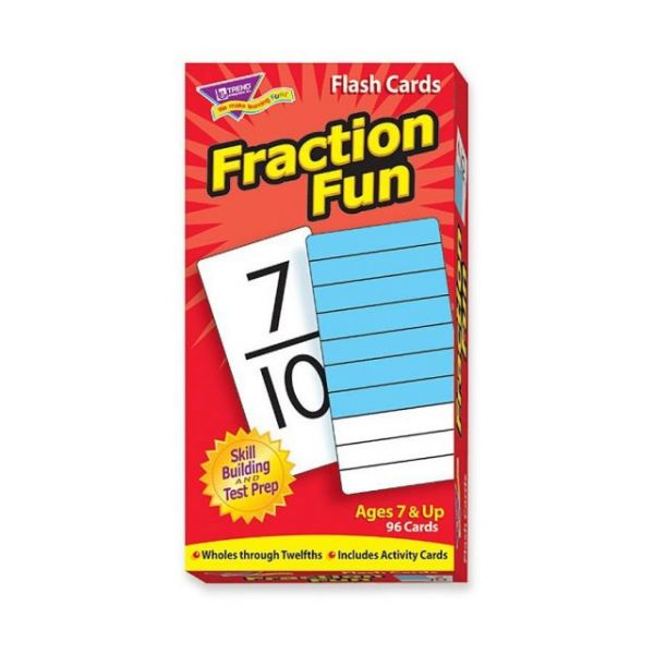 Trend Fraction Fun Flash Card