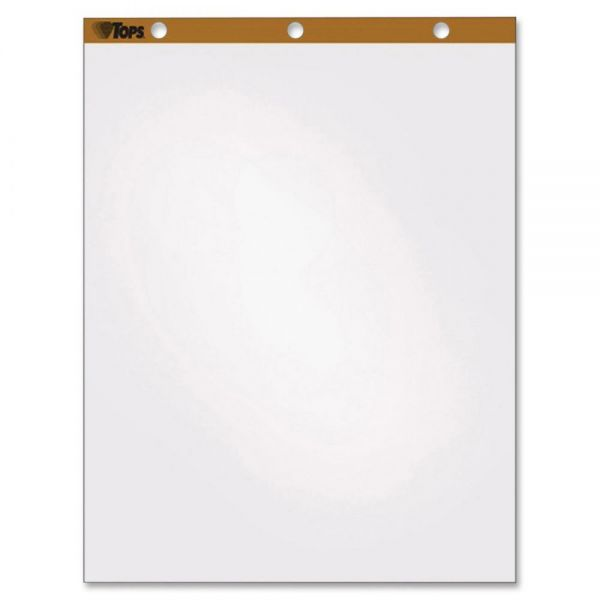 TOPS Plain Paper Easel Pads