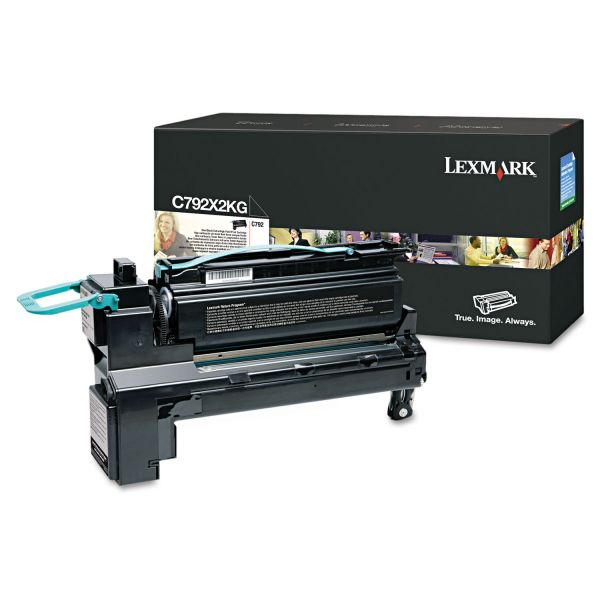 Lexmark C792X2KG Black Extra High Yield Toner Cartridge