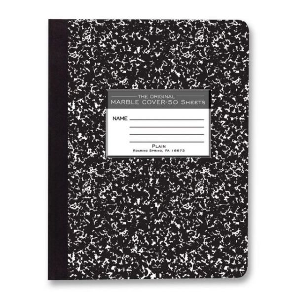 Roaring Spring Unruled Paper Composition Book