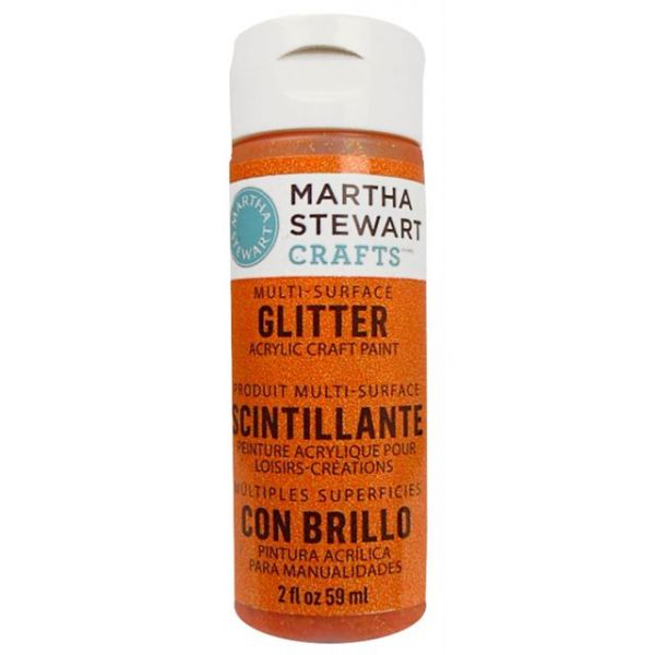 Martha Stewart Glitter Acrylic Craft Paint