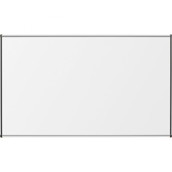 """Lorell 96"""" x48"""" Magnetic Porcelain Dry Erase Whiteboard"""