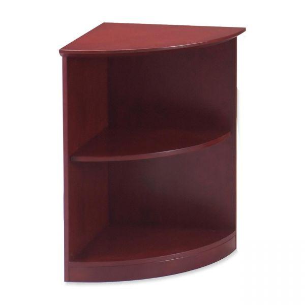 Tiffany Industries Corsica Series 1/4 Round Bookcase