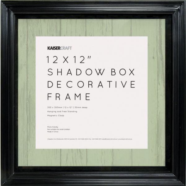 "Kaisercraft Shadow Box Frame 12""X12"""