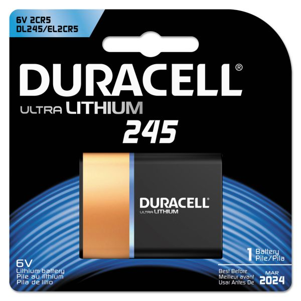Duracell 245 Ultra Photo Battery