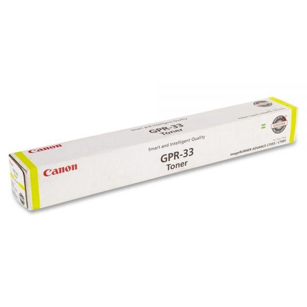 Canon GPR-33 Yellow Toner Cartridge (2804B003AA)