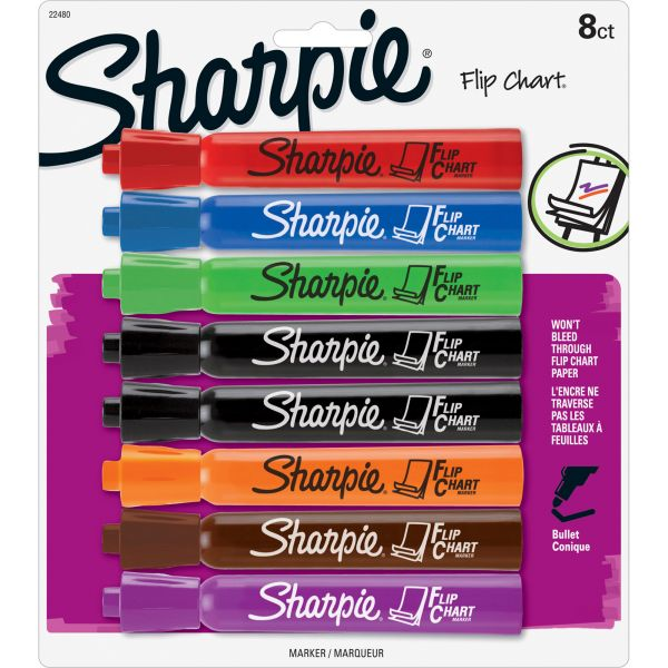 Sharpie Bullet Point Flip Chart Markers
