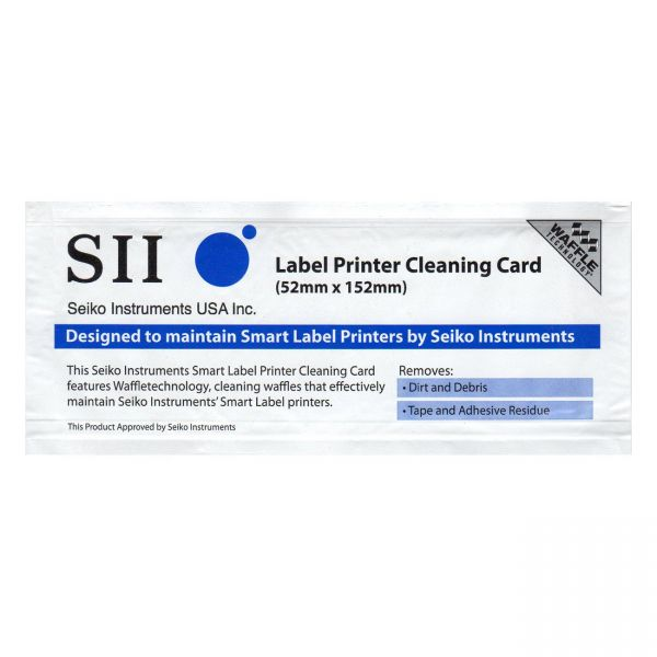 Seiko Cleaning Card for SLP Printers