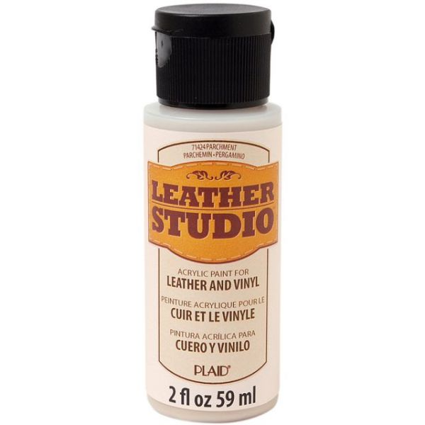 FolkArt Leather Studio Parchment Acrylic Paint