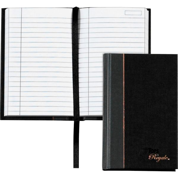 TOPS Royale Business Casebound Notebook, Legal/Wide, 5 1/2 x 3 1/2, 96 Sheets