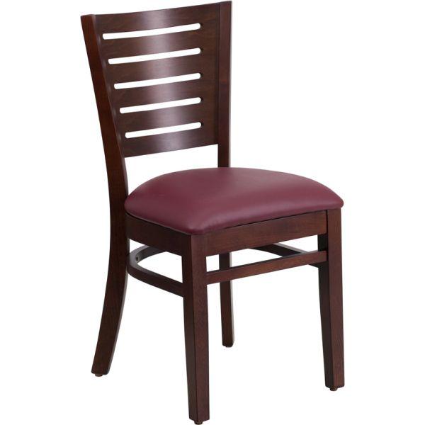 Flash Furniture Slat Back Wooden Restaurant Chair