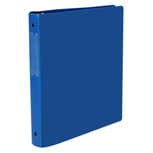 "Avery Hanging Storage Binder with Gap Free Round Rings, 11 x 8 1/2, 1"" Capacity, Blue"