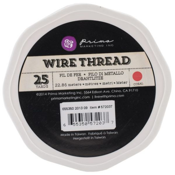 Prima Marketing Wire Thread 25yds