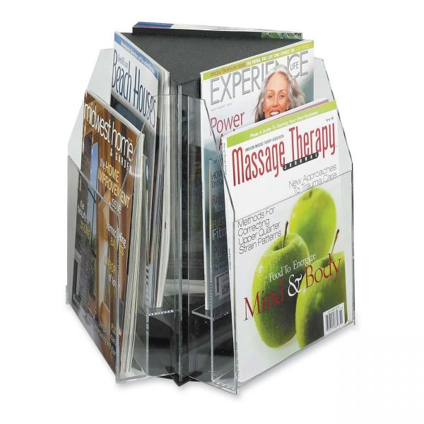 Safco Reveal 2-tier Tabletop Magazine Display