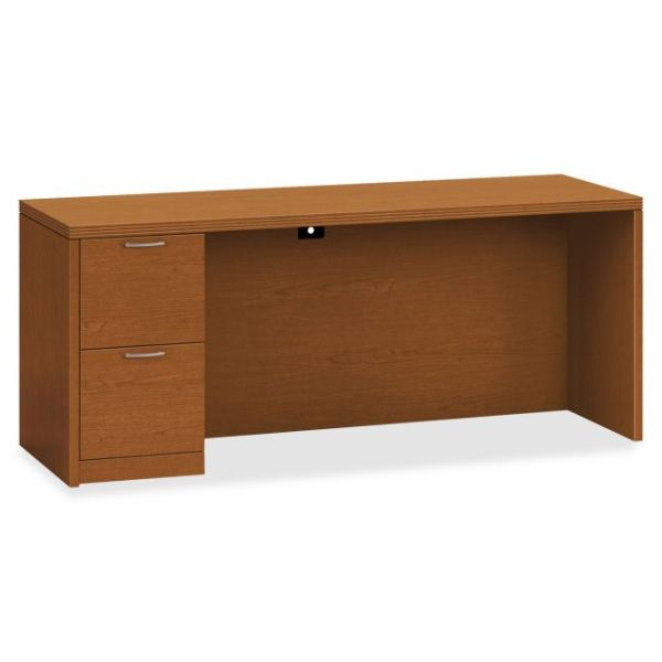 "HON Valido Left Pedestal Credenza | 2 File Drawers | 72""W"