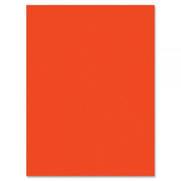 SunWorks Heavyweight Orange Construction Paper