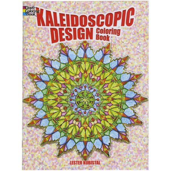 Dover Publications: Kaleidoscopic Design Coloring Book