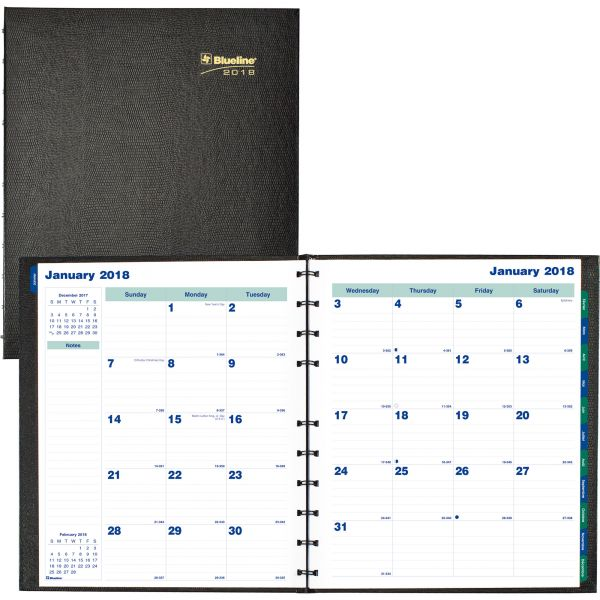 Blueline MiracleBind Academic Monthly Planner