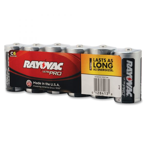 Rayovac Industrial PLUS C Batteries