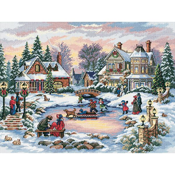 Dimensions Gold Collection A Treasured Time Counted Cross Stitch Kit