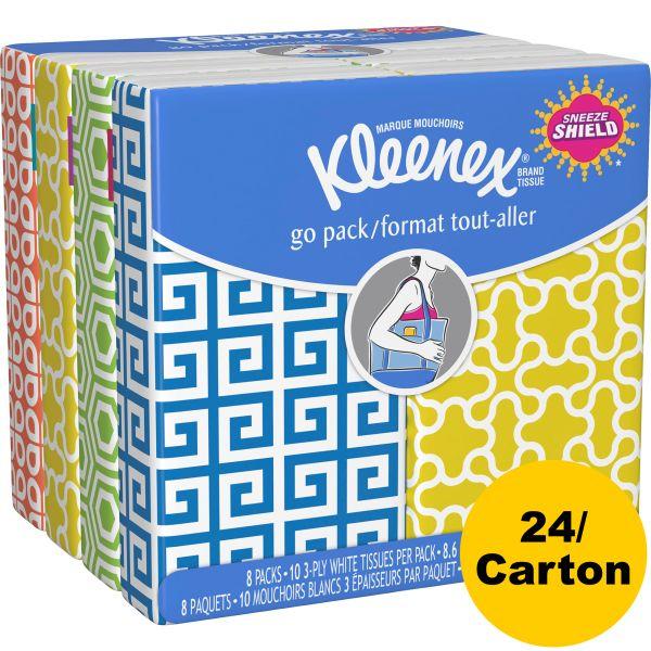 Kleenex 3-Ply Facial Tissue Pocket Packs