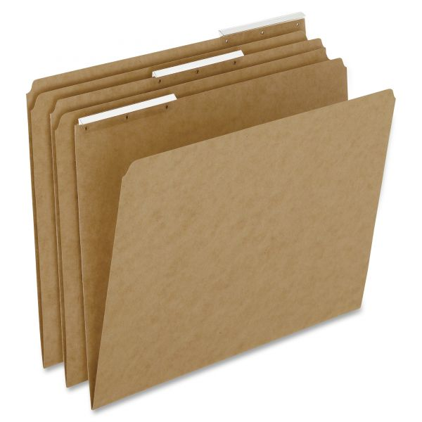 Pendaflex Kraft Angled Plastic Tab Colored File Folders