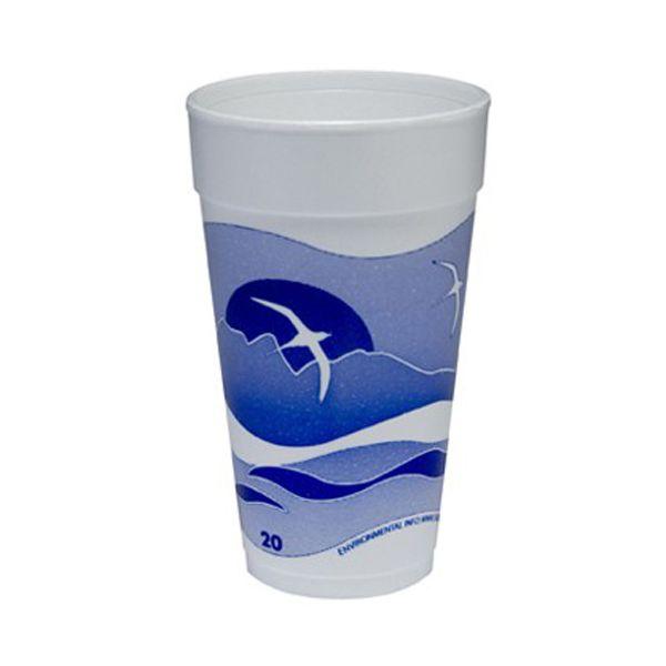 Dart Horizon 20 oz Foam Cups