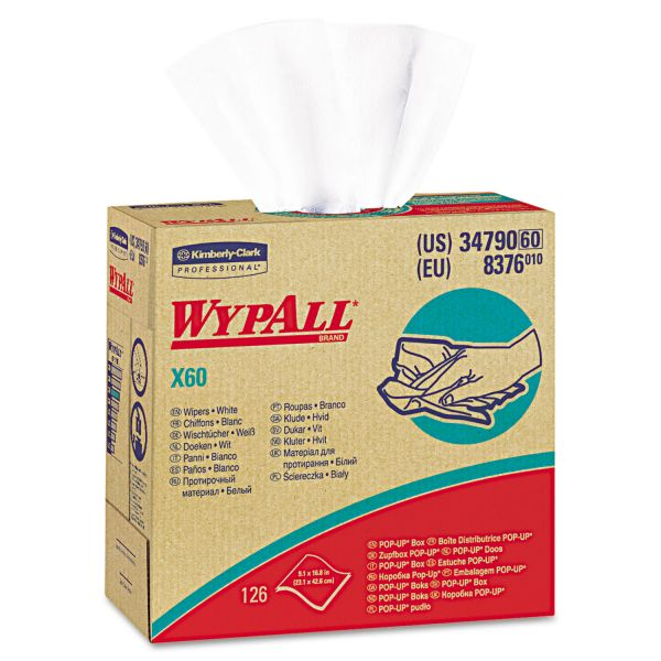 WYPALL X60 Disposable Wipers