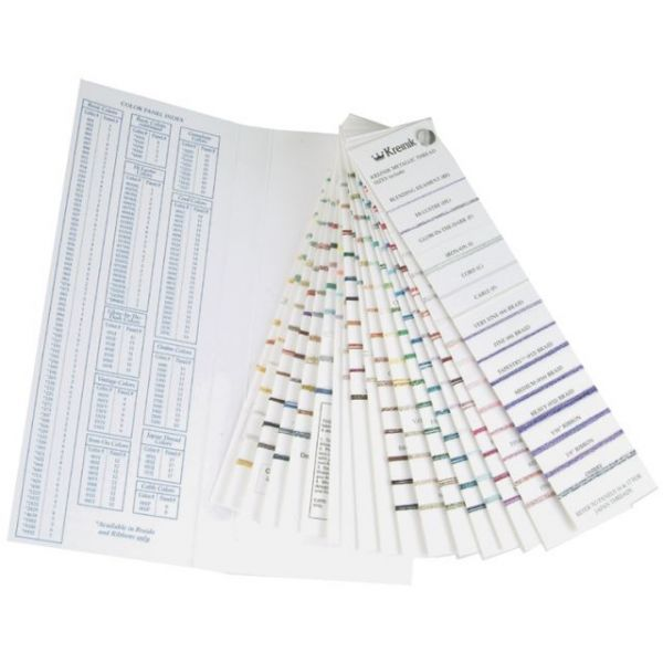 Kreinik Metallic Color Card