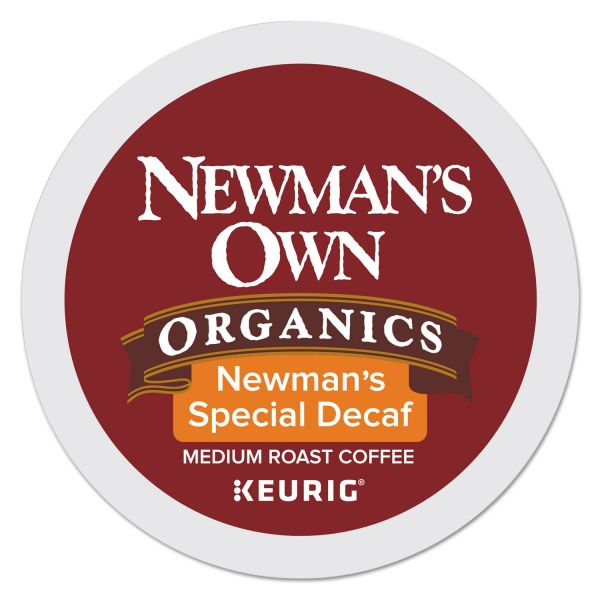 Newman's Own Organics Special Decaf K-Cups, 24/Box