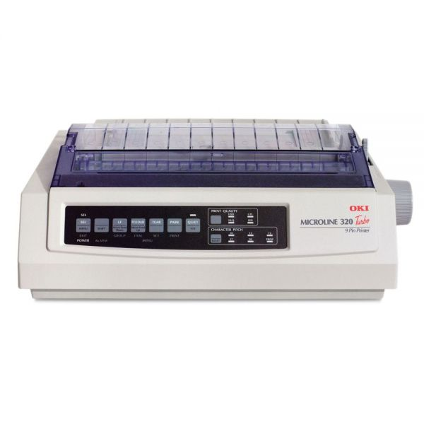 Oki Microline 320 Turbo Serial 9-Pin Dot Matrix Printer