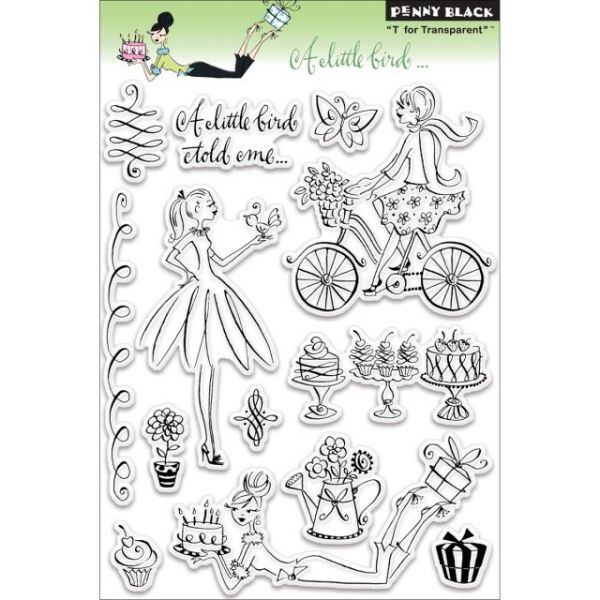 "Penny Black Clear Stamps 5""X7.5"" Sheet"