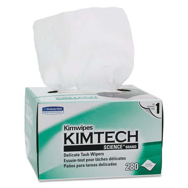 Kimtech* KIMWIPES, Delicate Task Wipers