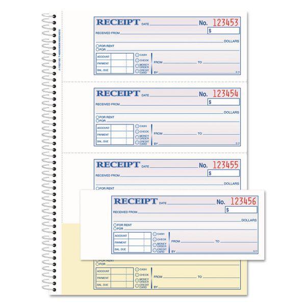 Adams Money/Rent 2-Part Receipt Book