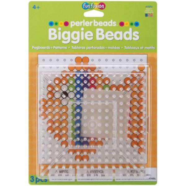 Perler Fun Fusion BIGGIE Beads Pegboards