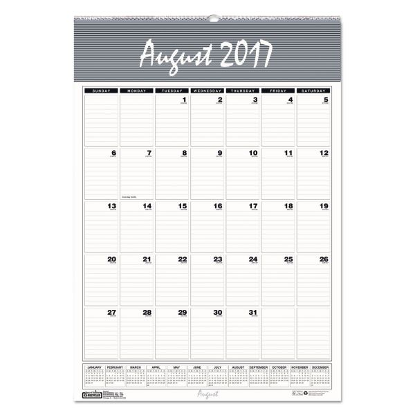 House of Doolittle Bar Harbor Academic Monthly Wall Calendar