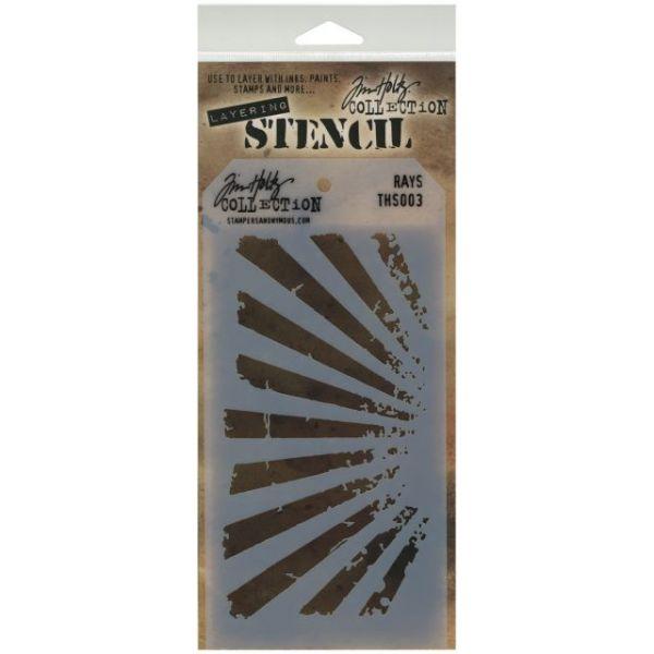 """Tim Holtz Layered Stencil 4.125""""X8.5"""""""