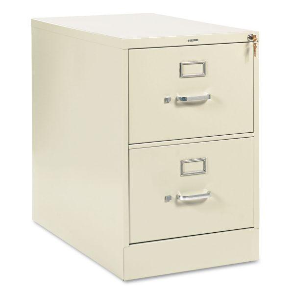 HON 210 Series 2 Drawer Locking Vertical Filing Cabinet
