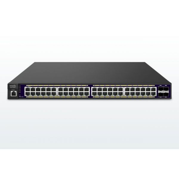 EnGenius 48-Port Gigabit PoE+ L2 Managed Switch with 4 Dual-Speed SFP
