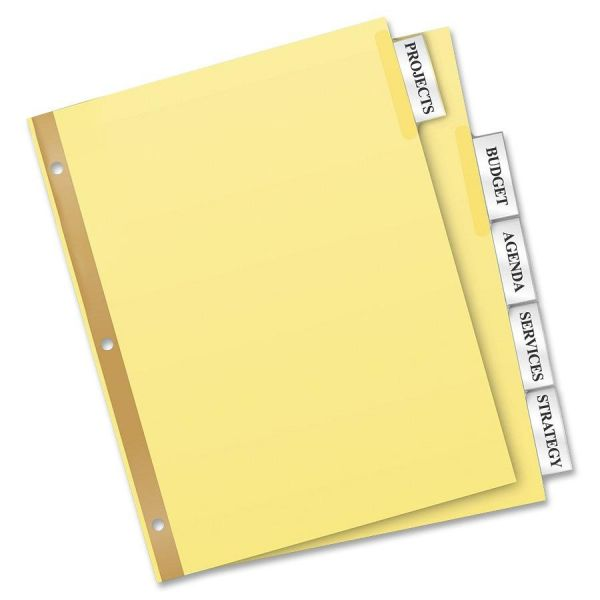 Avery WorkSaver Insertable Tab Index Dividers